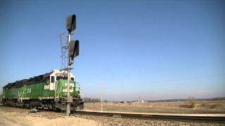 BNSF 2904/3159 s/b move.