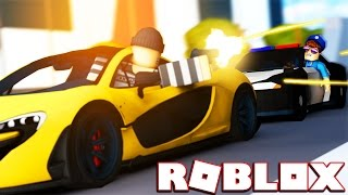 COPS VS ROBBERS IN ROBLOX | JailBreak Roblox