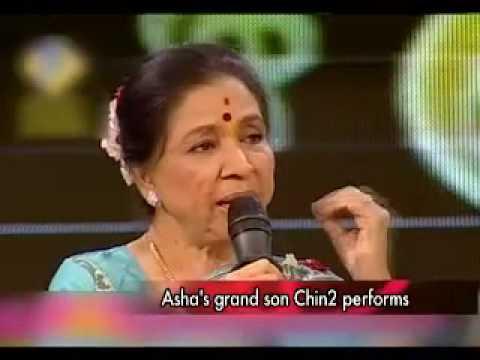 Asha Bhosle and chin2 performs on SaReGaMaPa L'il Champs