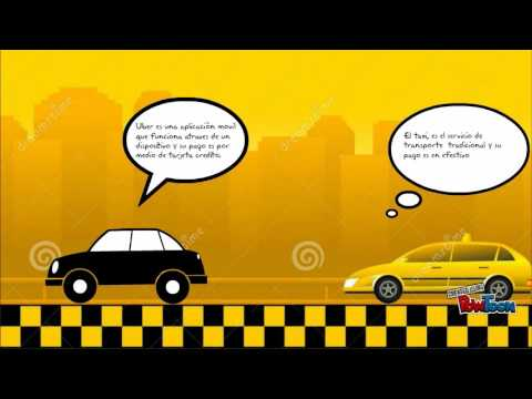 Taxis vs uber - YouTube
