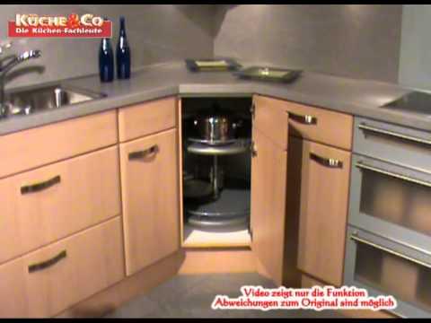 Küche&Co Eckunterschrank mit Drehkarussell wmv