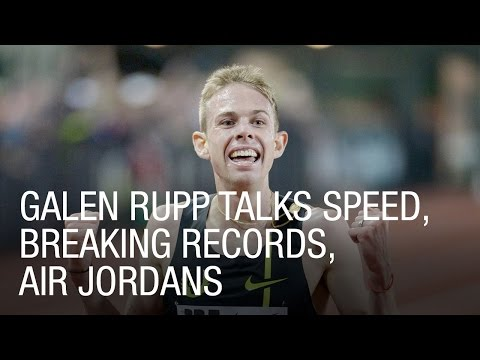 Galen Rupp Talks Speed, Breaking Record, Jordans