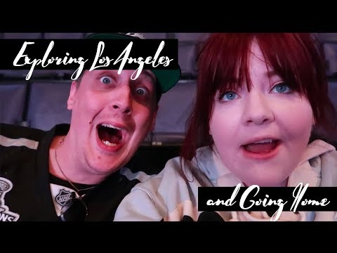 Exploring Los Angeles and Going Home Vlog - Walking in LA