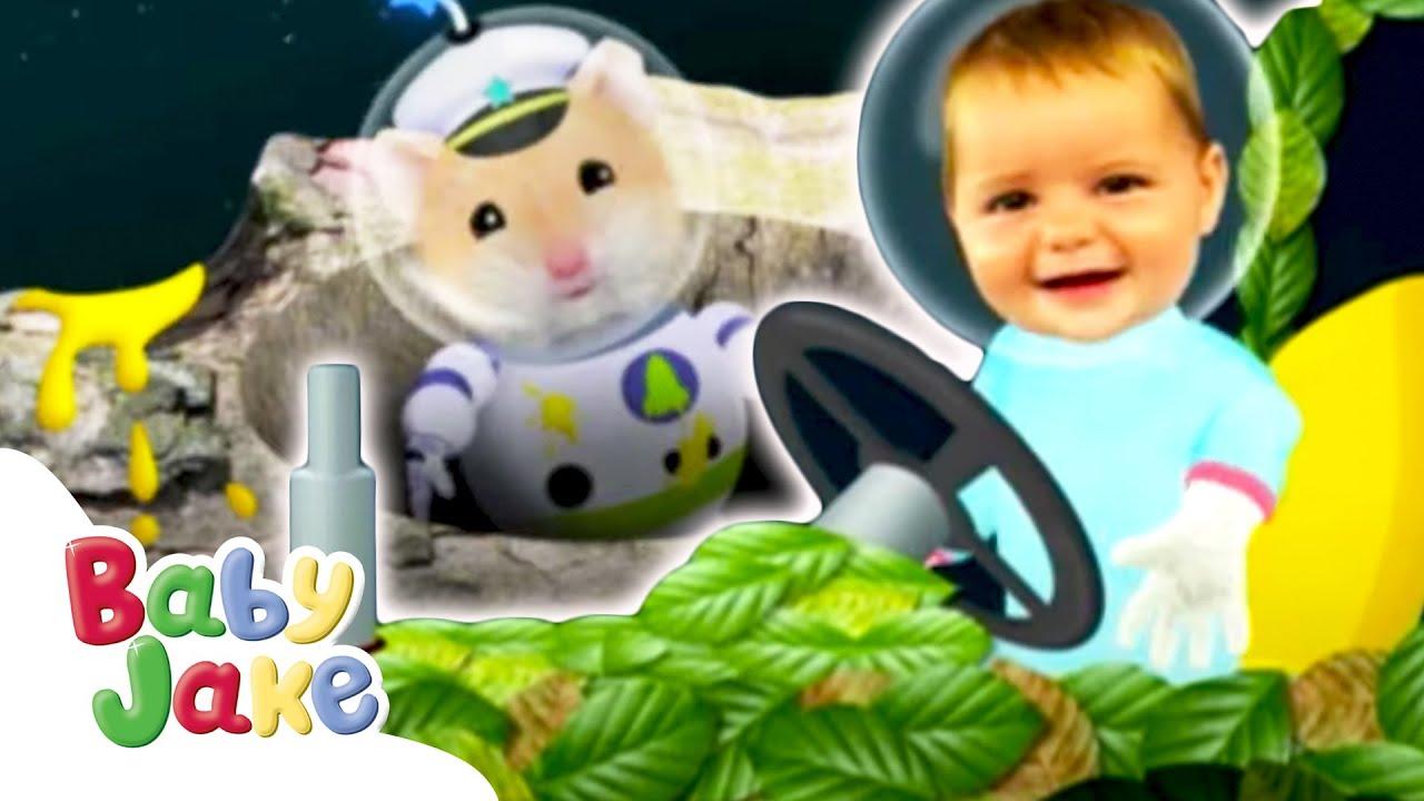 Baby Jake | Making A Magical Mess | Yacki Yacki Yoggi