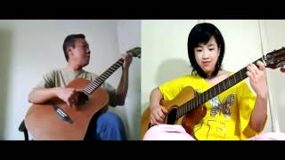 Như Cánh Vạc Bay - Like a Flying Flamingo - Guitar Duet