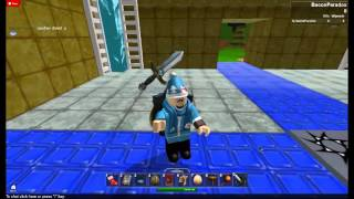 ROBLOX Dark Avenger Sword and Shield Bug 2013