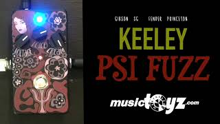 Keeley Psi Fuzz guitar Pedal