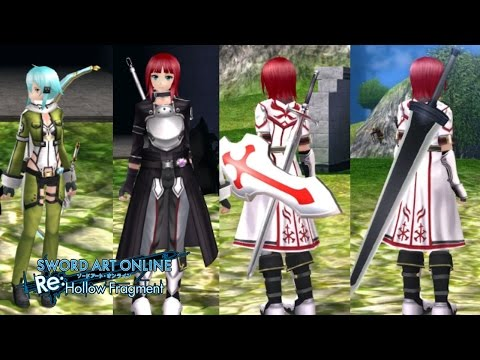 Sword Art Online: Hollow Realization - [All DLC Outfits