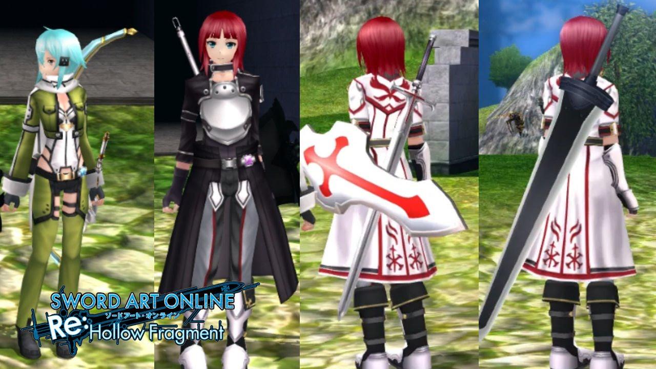 Sword Art Online Re Hollow Fragment PS4 DLC