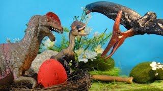 ПОХИЩЕНИЕ ДИЛОФОЗАВРА. В плену у ... Динозавры для детей. НОВЫЙ мультфильм на русском языке