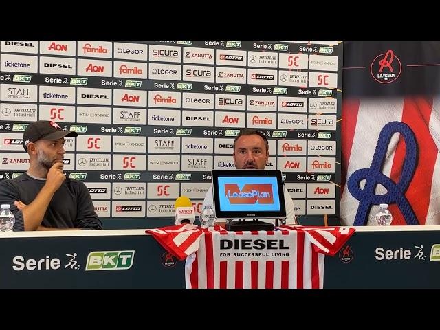 CALCIO - Conferenza di presentazione del nuovo allenatore Cristian Brocchi