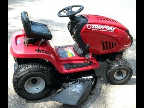 Troy-Bilt riding mower won't start, no click. Simple fix