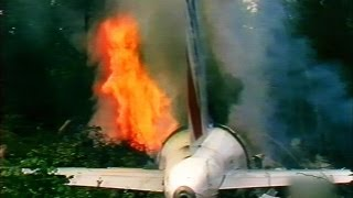 A Flyover Ends in Flames