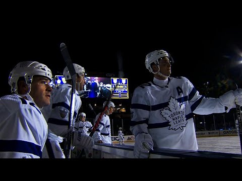 Lights go out for Maple Leafs, Capitals Stadium Series game