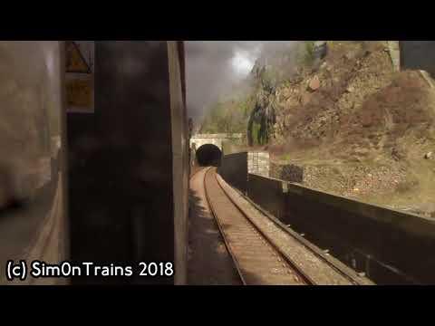 Bangor to Llandudno Junction behind BR 46100 Royal Scot (14th April 2018)