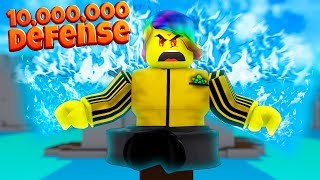 Ich meditierte für 10.000.000 MAGIC DEFENSE und wurde TOO STRONG (Roblox Magic Training Simulator)