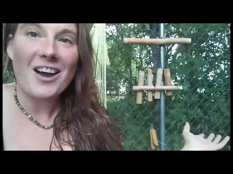 Easy Bamboo Wind Chimes