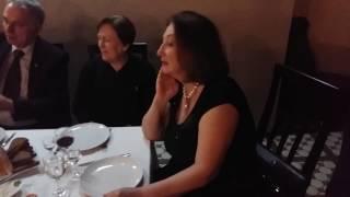 Абхазская делегация у Людмилы Кардановой в гостях. Ноябрь 2016 года