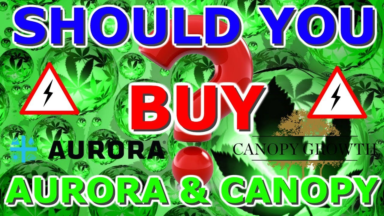 Aurora Cannabis Vs Canopy Growth 2019- Buy, Sell Or Hold - ACB WEED CGC  STOCK