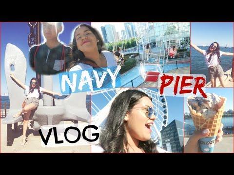 CHICAGO VLOG 2: NAVY PIER!!
