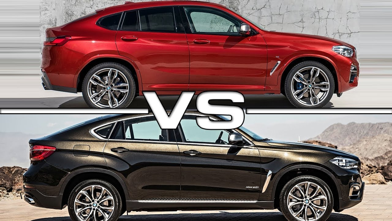2019 Bmw X4 Vs 2018 Bmw X6 Youtube