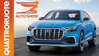 Nuova Audi Q8 2018 concept al Salone di Detroit 2017 | Quattroruote
