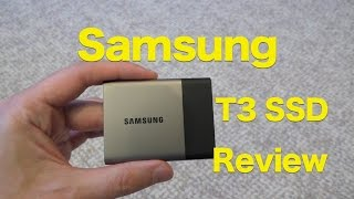 Samsung T3 Portable SSD Hard Drive Review, Small, Secure and Fast!