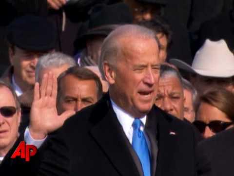 Inauguration: Joe Biden Sworn in As the 47th Vice President
