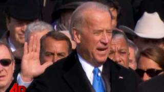 Inauguration: Joe Biden Sworn in As the 47th Vice President