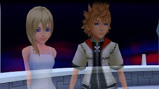 Kingdom Hearts 2 Final Mix HD 1.5 + 2.5 (PS4) Roxas And Naminé Return Home HD 720p 60fps