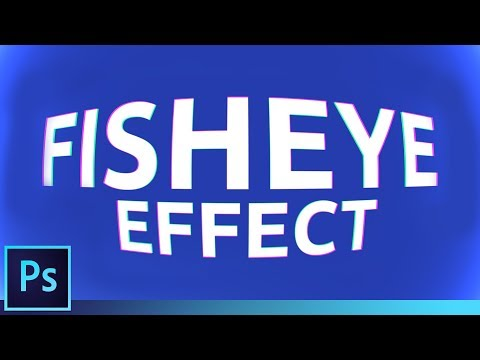 Fish-eye Effect In SECONDS | Photoshop Tutorial