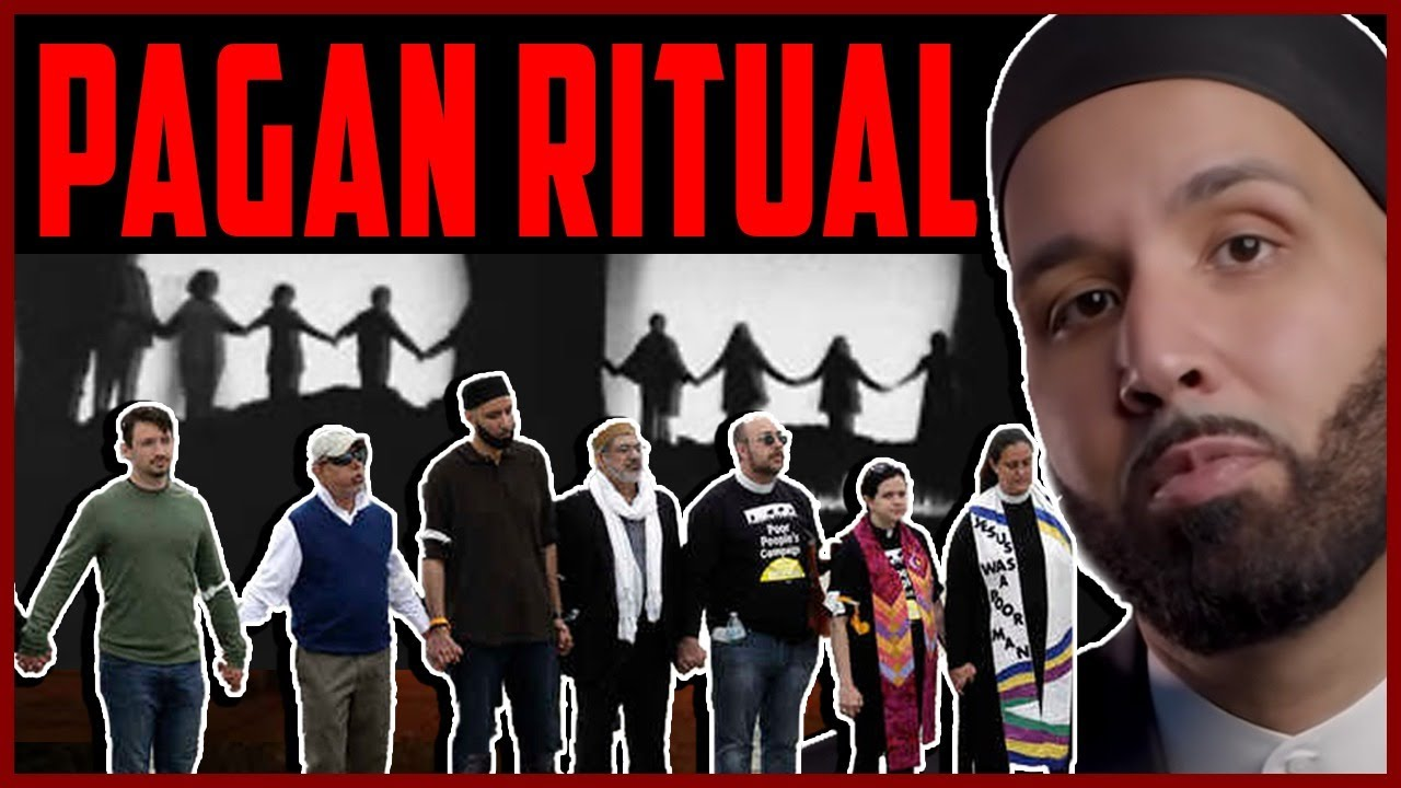 Yaqeen Founder Omar Suleiman Participates in PAGAN RITUAL