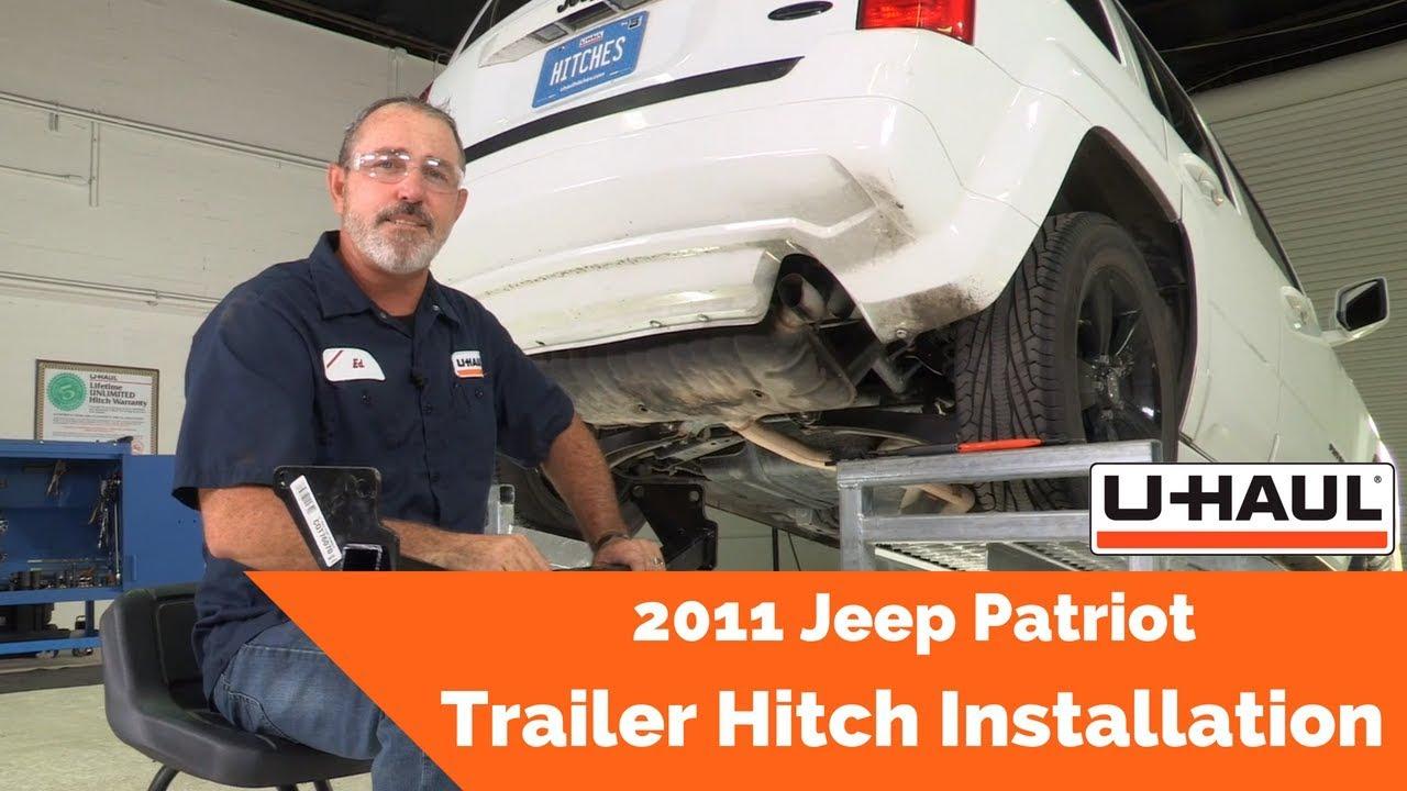 2011 jeep patriot trailer wiring 2011 jeep patriot trailer hitch installation youtube  2011 jeep patriot trailer hitch