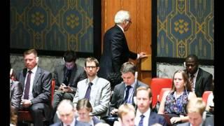 Члены делегации России покинули зал Генассамблеи ООН во время выступления Порошенко