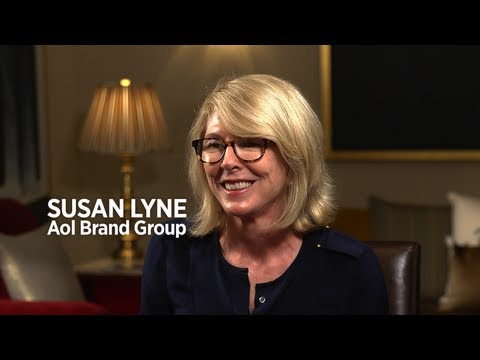 AOL Brand Chief Susan Lyne Leaps In - YouTube