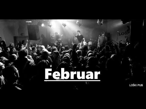 NIET - Februar (live, LOŠKI PUB, 9.4.2016)
