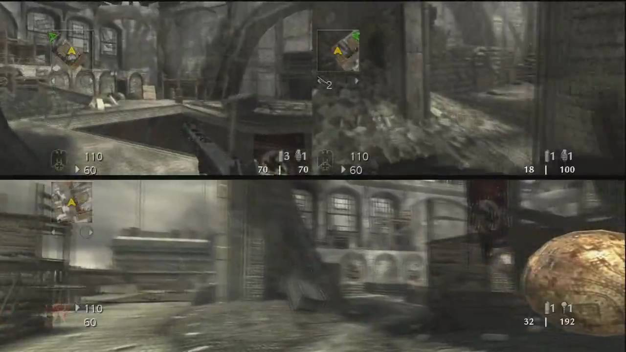 call of duty world at war multiplayer splitscreen in hd