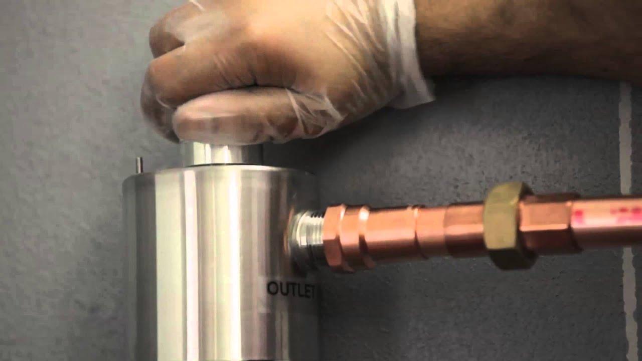 how to change rainfresh filter