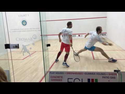 Squash - 2016 Simon Rösner vs Grégoire Marche