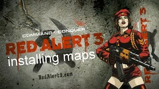 Red Alert 3 Installing Maps