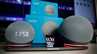 ECHO DOT 4 vs ECHO 4 - The Best 4th Gen Amazon Alexa Speaker?