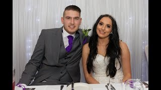 Sophie & Danny Hayward's wedding on November 16th 2018 at the Waterton Park Hotel in Wakefield