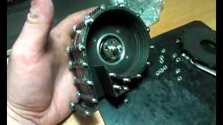 Дисковый вентилятор среднего давления Н. Теслы. Tesla high pressure bladeless Tesla fan.