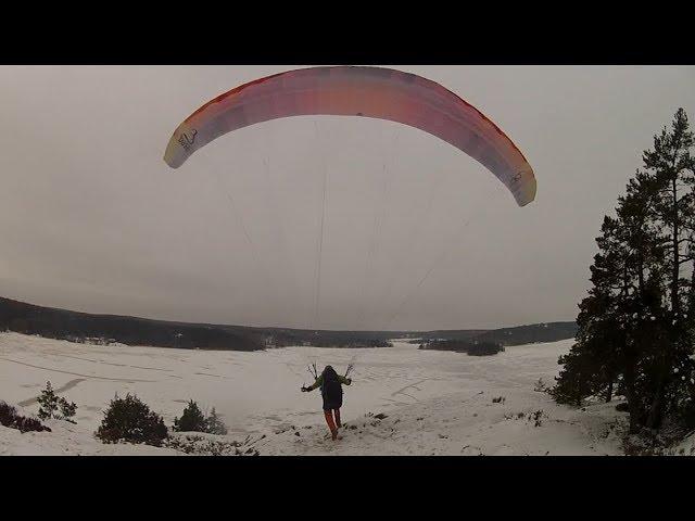 Skärmflyg - Klövberget - 2018-02-07