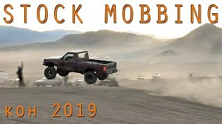 STOCK TRUCKS & JEEPS JUMPING HUGE at King of the Hammers 2019