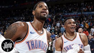 What should Russell Westbrook do following Paul George's exit from the Thunder?   The Jump