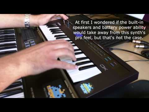 Yamaha reface dx review demo youtube for Yamaha dx reface review