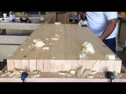 Making a Woodworking Bench The Way My Grandfather Made 70 Years Ago
