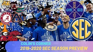 SEC College Basketball Teams 2019-2020 Pre-Season Rankings | Colin's Corner