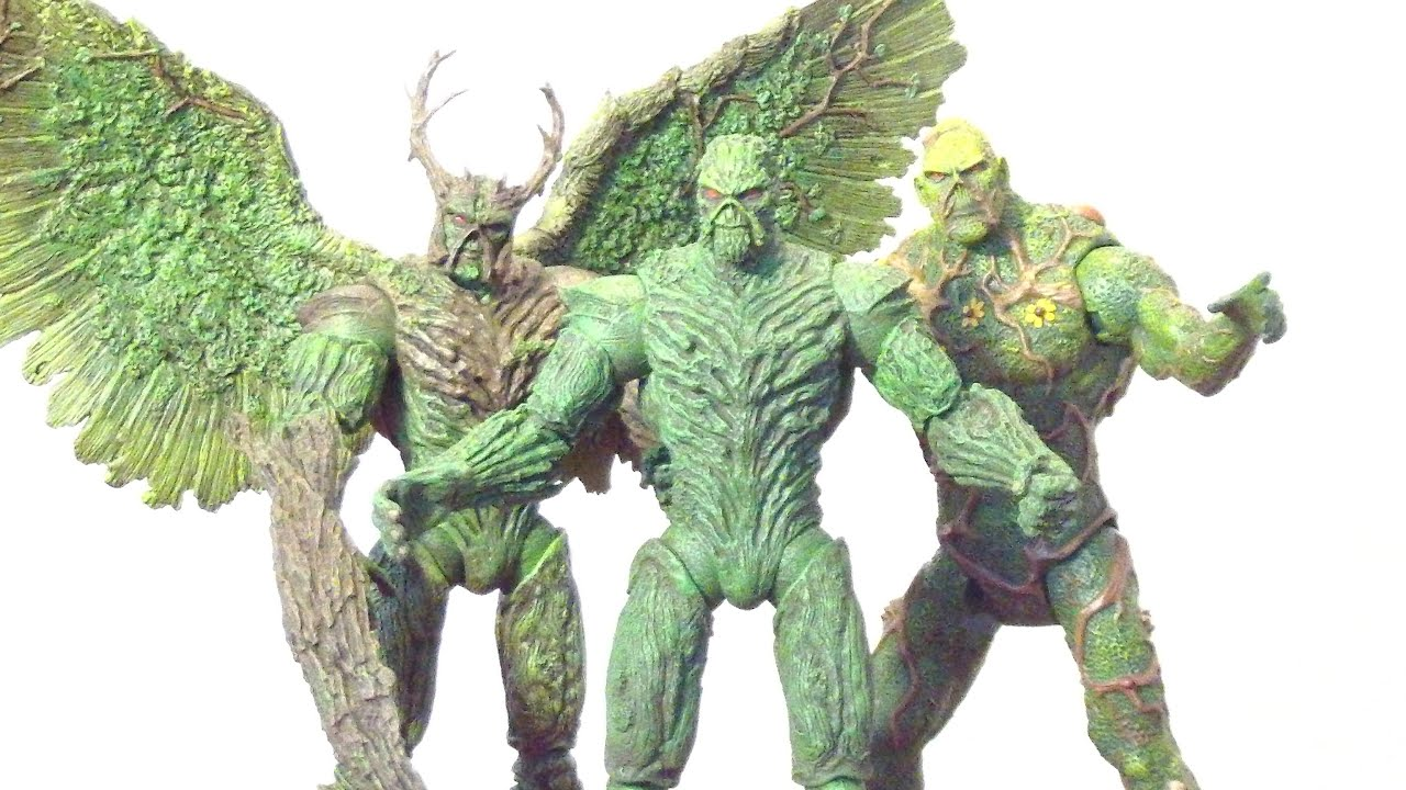 DC COMICS icônes Swamp Thing Figure